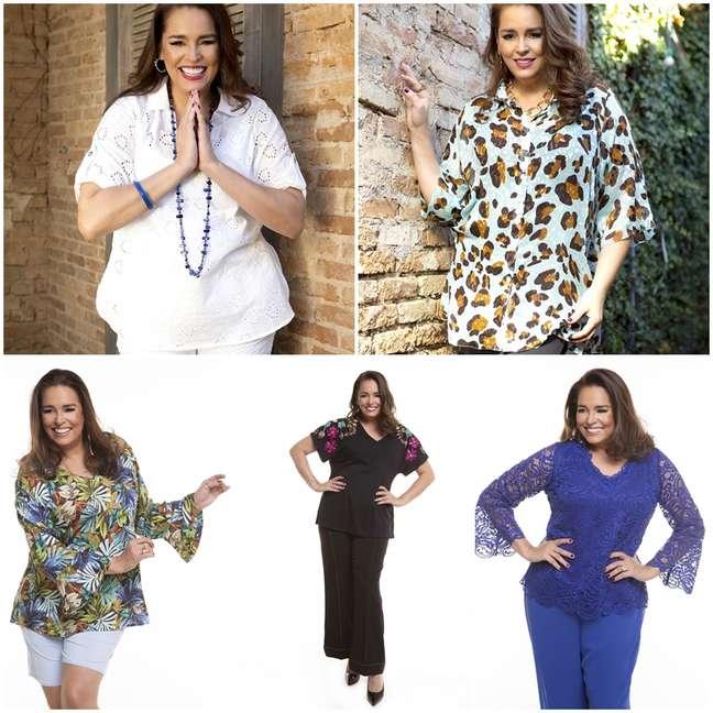 Suzy Rêgo aprovou os looks usados na nova campanha da Maison SPA