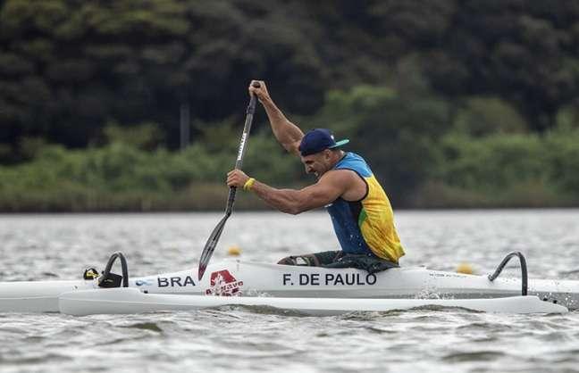 Fernando Rufino Luis Carlos Cardoso já estão nas semifinais da canoagem de velocidade (Foto: Alê Cabral/CPB)