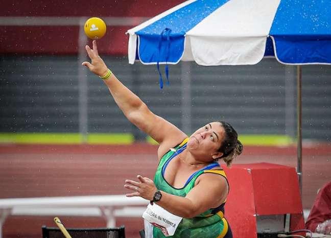 Marivana Oliveira em ação nos Jogos Paralímpicos de Tóquio (Foto: Wander Roberto/CPB)