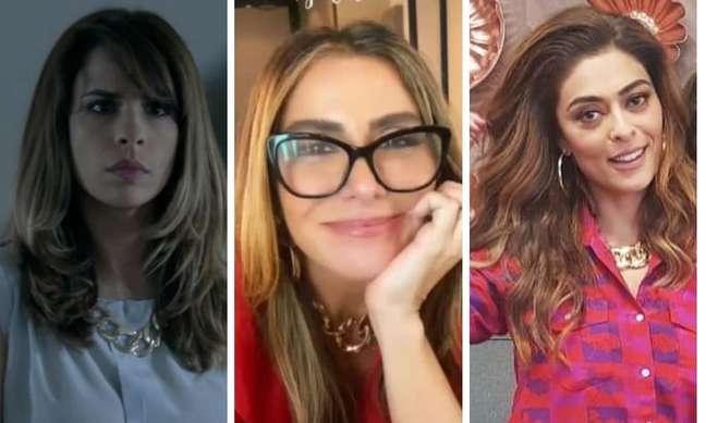 Maria Ribeiro, Giovanna Antonelli e Juliana Paes (Fotos: Reprodução/TV Globo/Instagram)