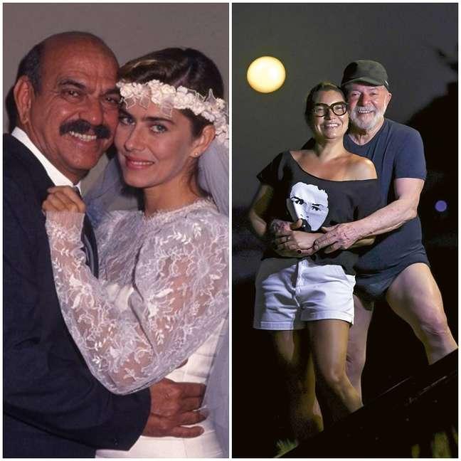 Sassá e sua amada Clotilde, Lula com a noiva Janja: a mesma paixão avassaladora por uma mulher mais jovem