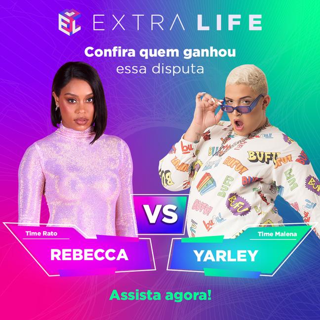 Extra Life: Rebecca e Yarley