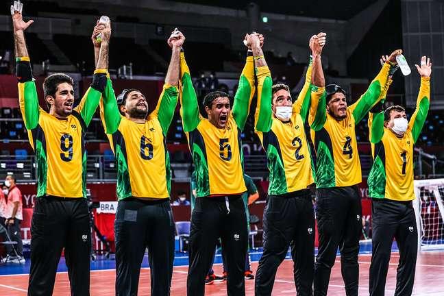 Seleção Brasileira de goalball masculino está na final da Paralimpíada de Tóquio Takuma Matsushita CPB