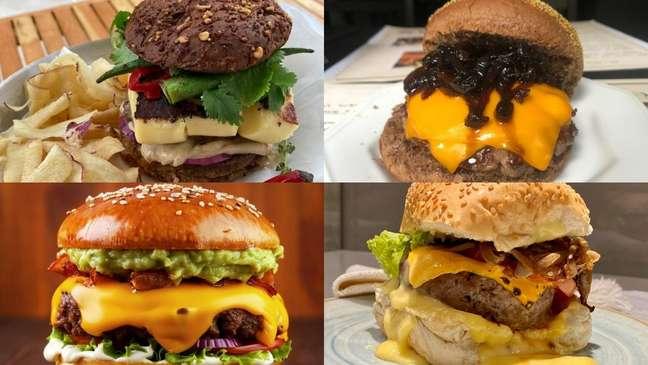 Receitas de hambúrgueres para preparar em casa!