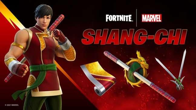 Shang-Chi estreia em Fortnite