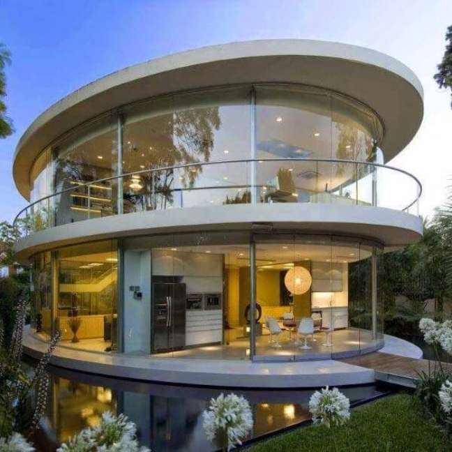 3. Fachada de vidro no projeto curvo – Foto VS Architects