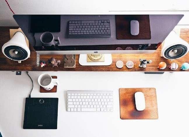1. Saiba como montar um home office confortável – Foto: Pixabay