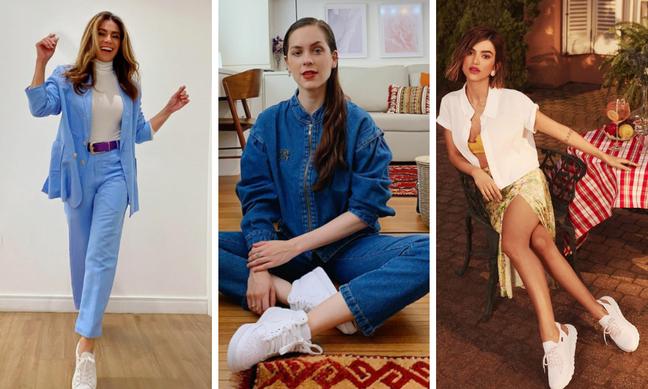 Giovanna Antonelli, Sophia Abrahão e Manu Gavassi (Fotos: Reprodução/Instagram)