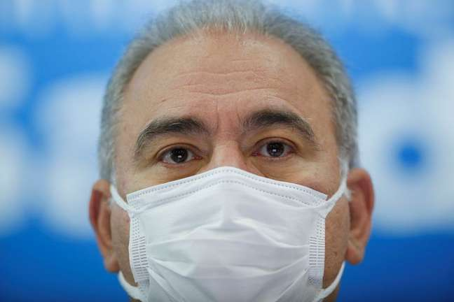 Ministro da Saúde, Marcelo Queiroga, em Brasília 18/08/2021 REUTERS/Adriano Machado