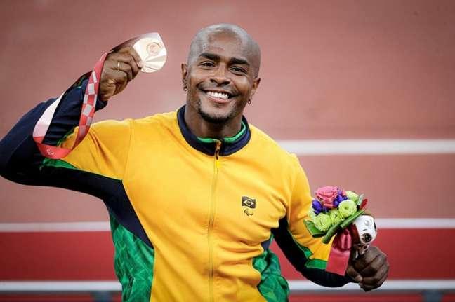 João Victor Teixeira já soma duas medalhas de bronze nas Paralimpíadas de Tóquio (Foto: Wander Roberto/CPB)