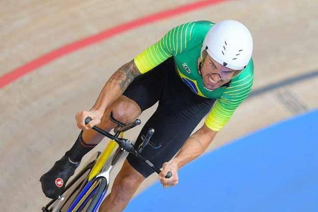 Lauro Chaman fica fora do pódio no ciclismo de estrada nas Paralimpíadas de Tóquio (Foto: CPB)