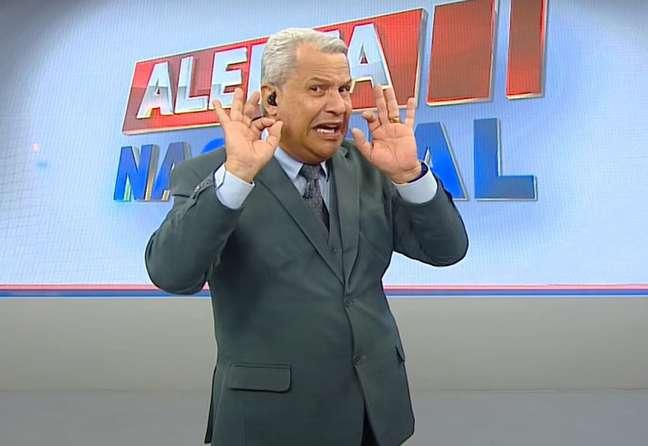 O apresentador Sikêra Júnior, da RedeTV!