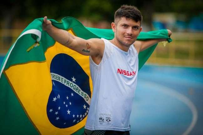 Petrúcio Ferreira conquistou sua terceira medalha em Tóquio (Foto: Divulgação/Nissan)