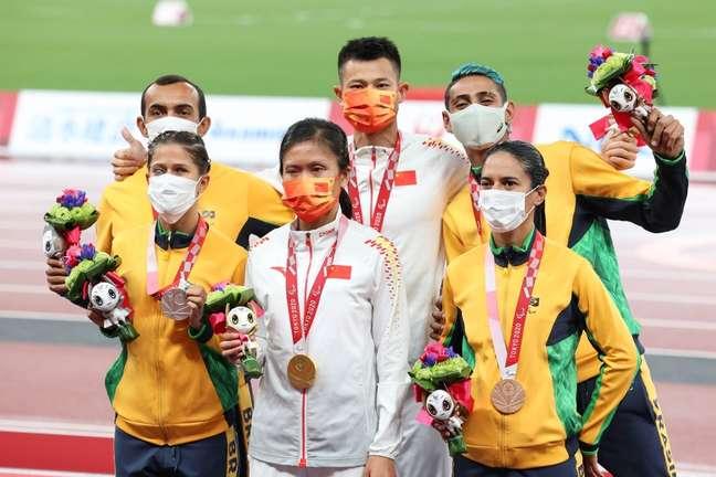 Thalita Simplício e Jerusa Geber são prata e bronze nos 200m na Paralimpíada de Tóquio Takuma Matsushita CPB