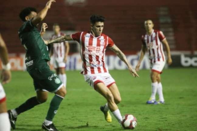 No empate em 1 a 1, equipe ficou com um jogador a menos (Tiago Caldas/CNC)