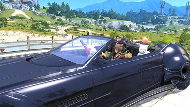 Montaria Regalia Type-G em Final Fantasy XIV
