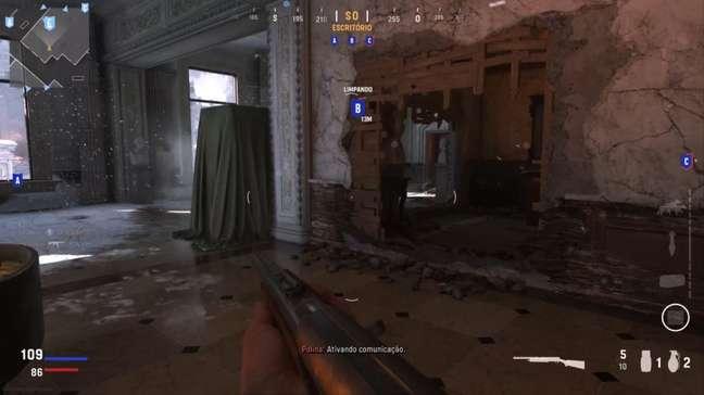 Escopeta não estava calibrada na prévia de CoD: Vanguard