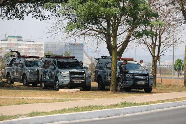 Policiamento em atos do 7 de Setembro em Brasília