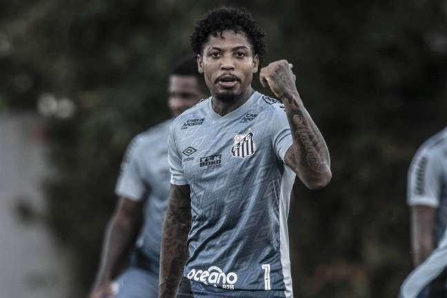 Marinho desabafou sobre o seu momento no Santos (Foto: Ivan Storti/Santos)