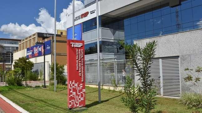Fachada do Instituto de Nacional de Estudos e Pesquisas Educacionais Anísio Teixeira (Inep) (
