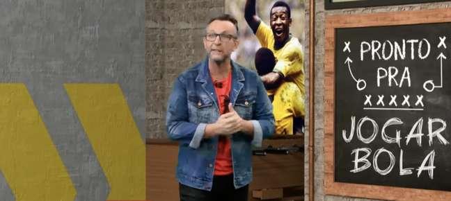 """Neto criticou Luan e o prêmio """"Craque do Jogo"""", da Globo (Reprodução / Band)"""