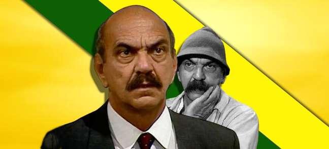 Dois em um: o Sassá 'ditador' e o Sassá matuto de 'O Salvador da Pátria