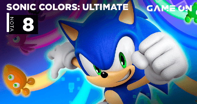 Sonic Colors Ultimate - Nota 8