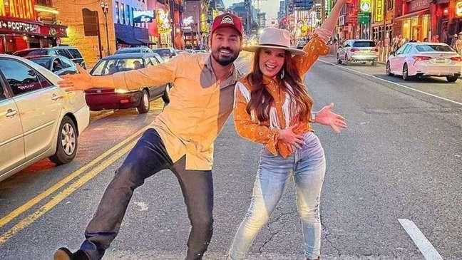 Fernando, da dupla com Sorocaba, e Maiara estavam juntos desde março de 2019.