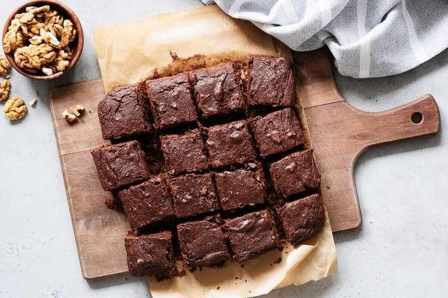 4. Receita de brownie de chocolate com nozes – Foto: iStock