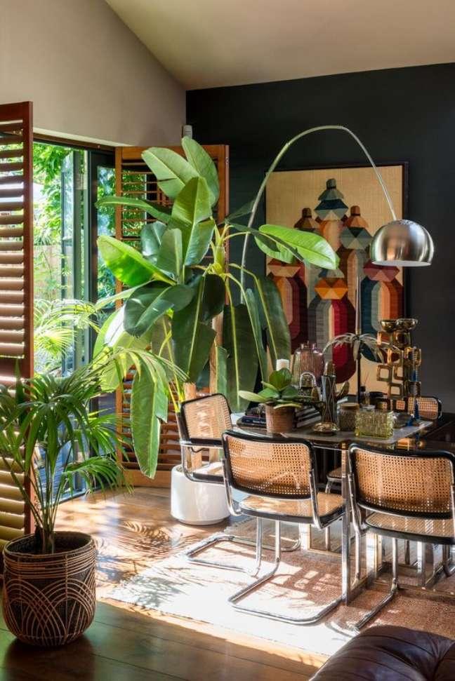42. Casa no conceito aberto com cadeira cesca – Foto The Nordroom