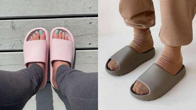 Saiba como utilizar o calçado do momento, o chinelo nuvem