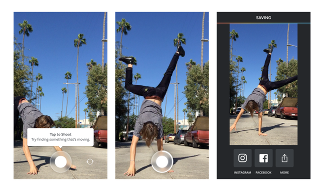 A função Boomerang chega ao Instagram