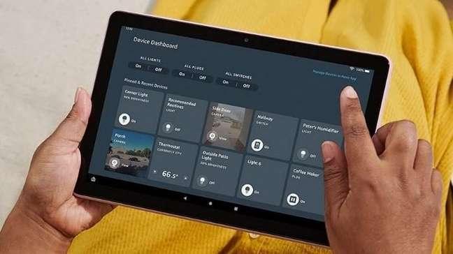 Fire HD 10 2021 — tablet da Amazon