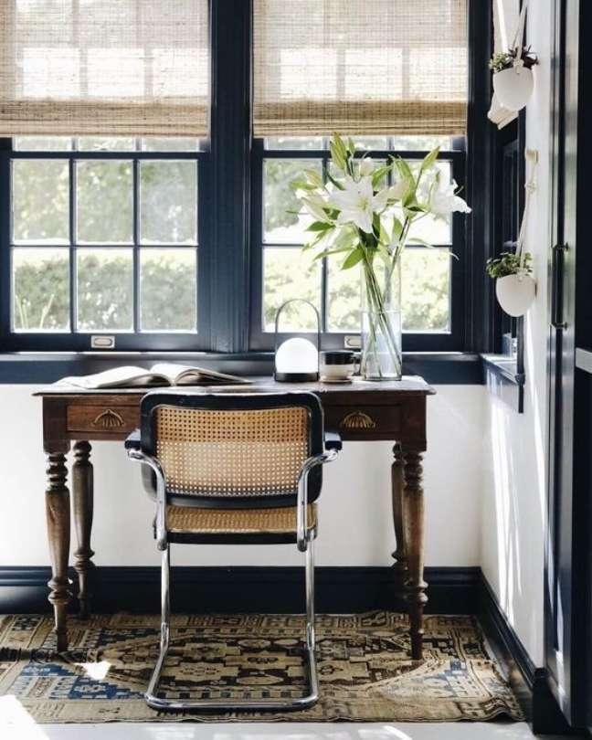 52. Home office com cadeira cesca – Foto Blanco Interiores