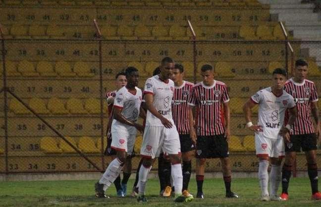 São Paulo perdeu para o Audax por 1 a 0, fora de casa (Foto: Divulgação/São Paulo)
