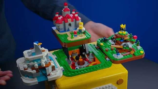Lego Super Mario recebe Mario 64