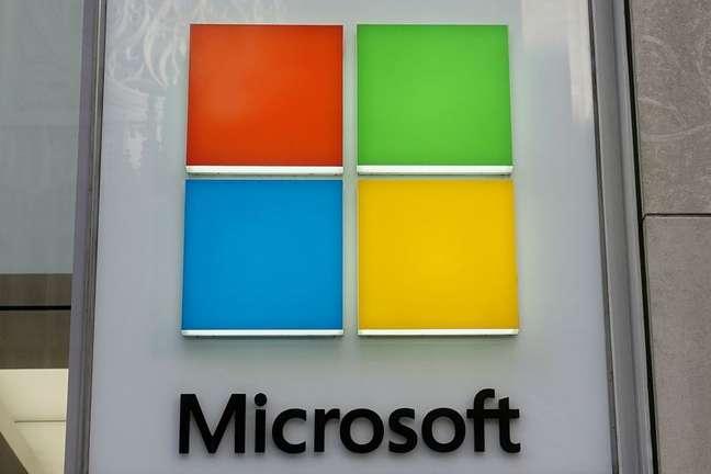 Logotipo da Microsoft. 25/1/2021. REUTERS/Carlo Allegri
