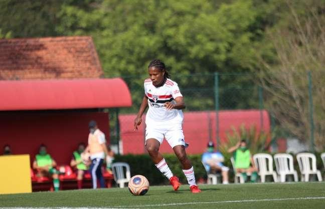 Formiga quebrou recorde com o gol marcado pelo São Paulo (Foto: Gabriela Montesano/saopaulofc.net)