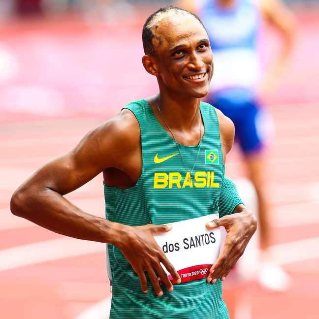 Alison dos Santos conquistou o vice-campeonato da Liga Diamante de 2021
