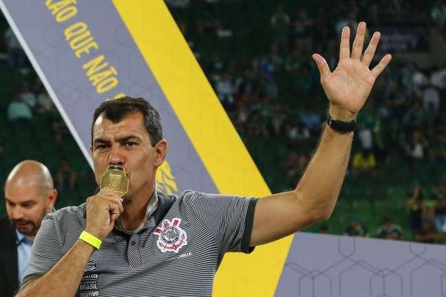 Fábio Carille foi campeão paulista e brasileiro pelo Corinthians (Foto: Jales Valquer/Fotoarena/Lancepress!)