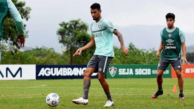 Lucca vinha sendo titular no Fluminense sob o comando de Marcão (Foto: Mailson Santana/Fluminense FC)