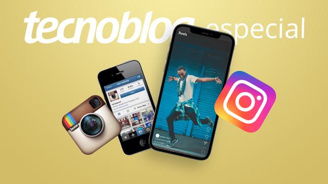 A evolução do Instagram