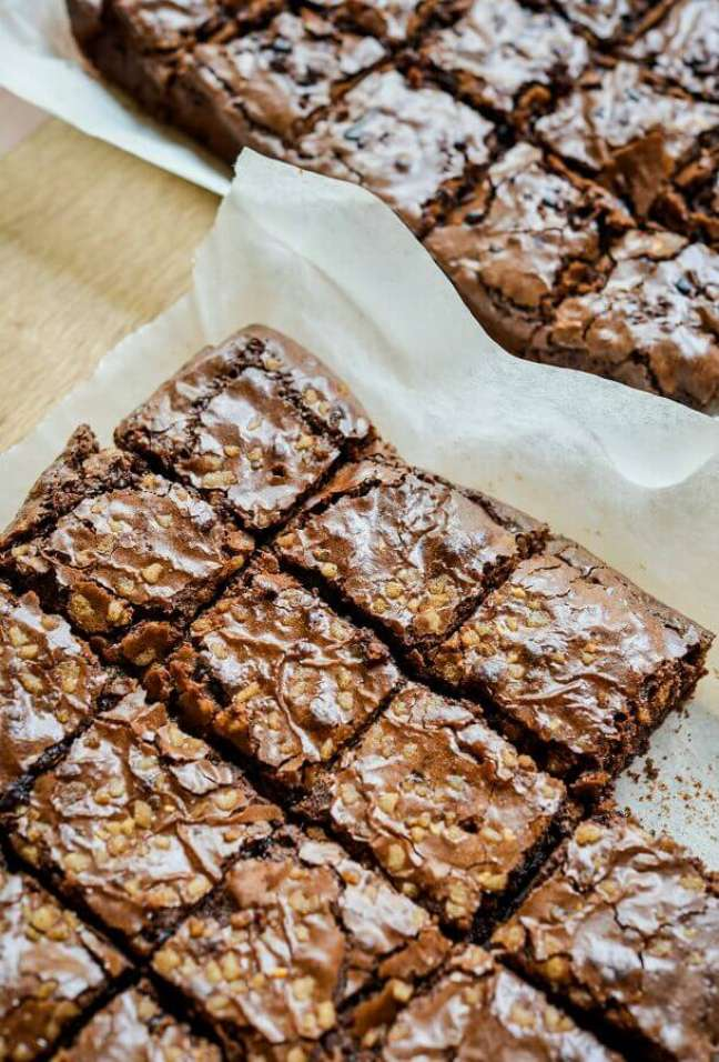 1. Aprenda como fazer receita de brownie tradicional – Foto: Unsplash