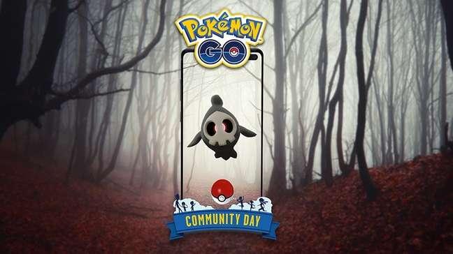 Duskull está no Dia Comunitário de outubro em Pokémon Go