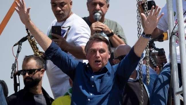 Bolsonaro inflou apoiadores em discursos nas manifestações do 7 de Setembro, fazendo ameaças ao Supremo e dizendo que o 'povo é que manda'.