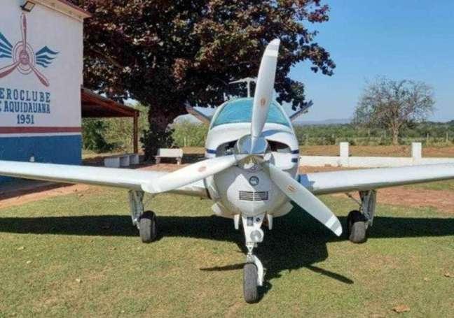 Três aeronaves foram roubadas de aeroclube
