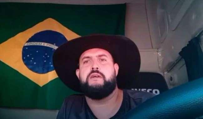 Zé Trovão tem mandado de prisão por incitar ato antidemocrático