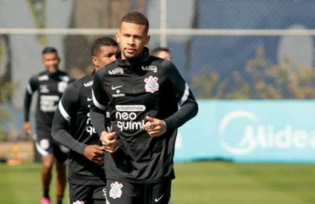 João Victor retornou ao Corinthians nesta temporada, após ser emprestado para Atlético-GO e Inter de Limeira (Foto: Rodrigo Coca/Ag. Corinthians)