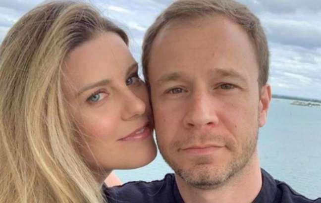 Tiago Leifert e Daiana Garbin são casados desde 2012