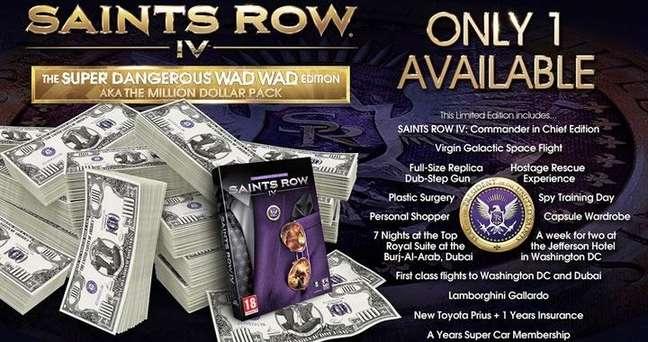 Saints Row IV: Super Dangerous Wad Wad Edition